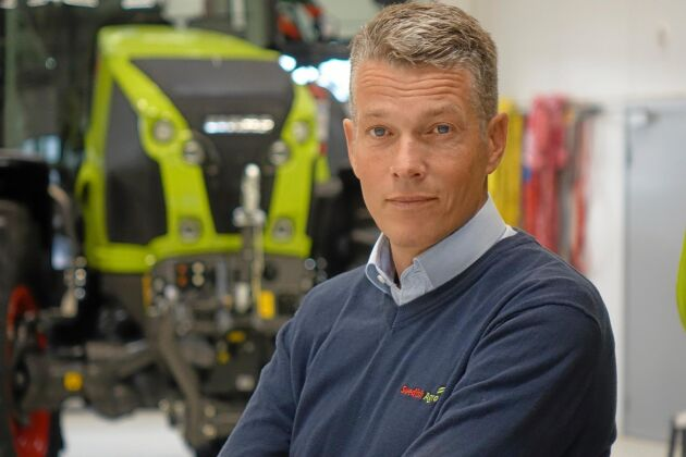 Björn Pettersson, VD Swedish Agro Machinery.