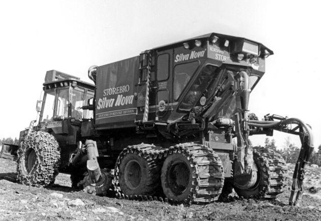 Planteringsmaskinen Silva Nova fanns i drift på 1980-talet. Trots bra planteringsresultat på vissa marker kunde den inte konkurrera med manuell plantering.