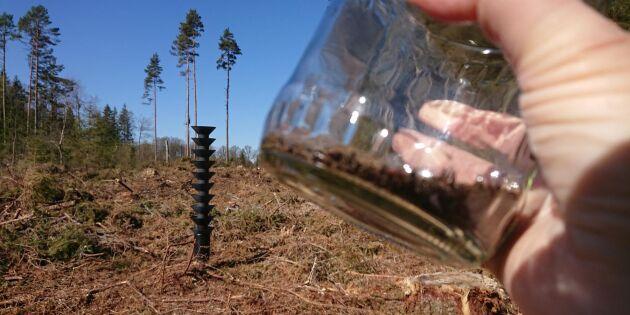 Skogstyrelsen slutar med fällor