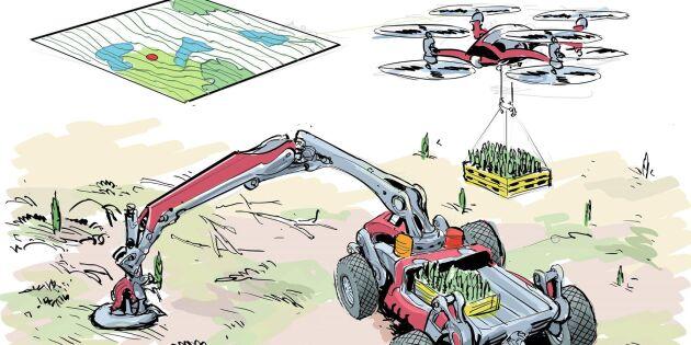 Maskinen som kan bräda Plantma X