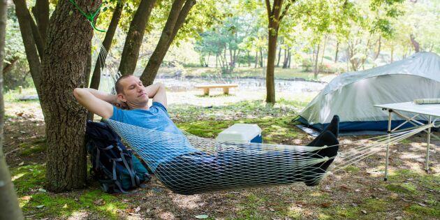 Naturen kan lösa problem med sömn - redan efter en helg