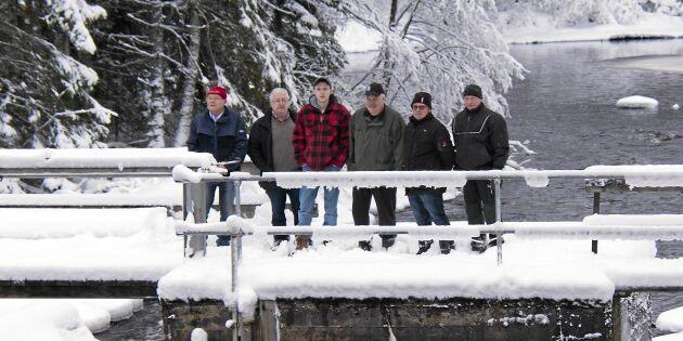 Sveriges dammar hotas av rivning – Torsbybor protesterar
