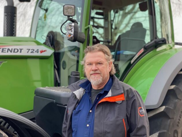Tommy Ingelsson fick prisuppräkningen svart på vitt när han skulle köpa en exakt likadan traktor som förra gången det begav sig.