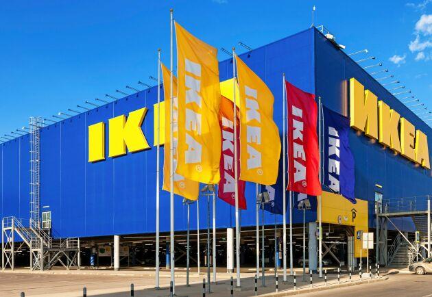 Var hundrade stock som avverkas industriellt i världen blir en Ikeamöbel.