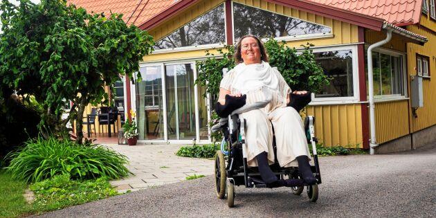 """Ryggmärgsskadade Maria: """"Självmedlidande är inget för mig"""""""