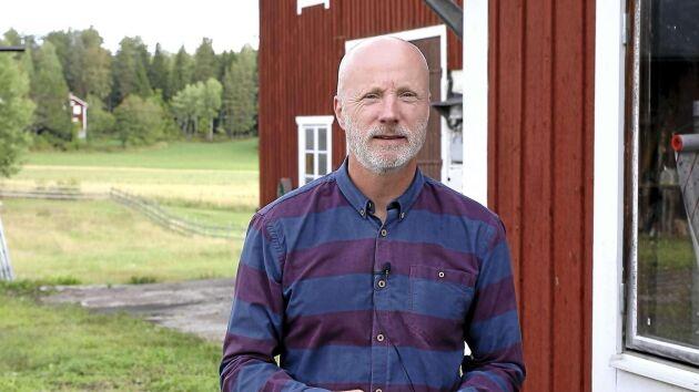 Magnus Berg, projektledare vid enheten för Forskning och Utveckling på Vattenfall.