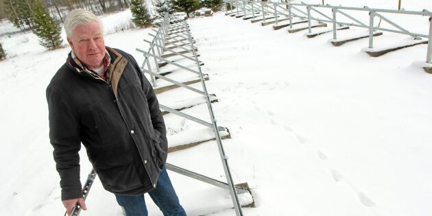 Tjuvar stal Åkes solpaneler