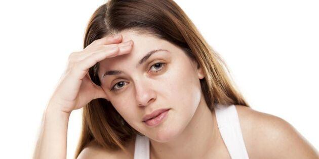 9 tecken på din kropp som avslöjar att något kan vara fel