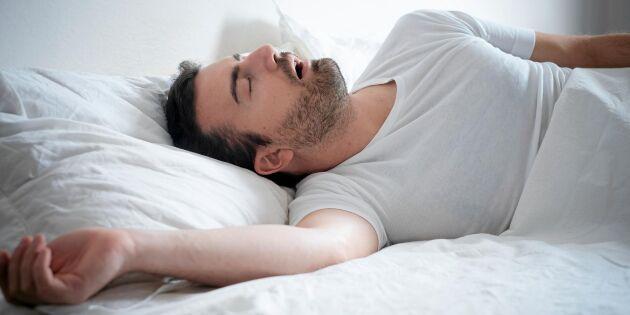 Forskare varnar: Sömnbrist kan öka risken för demens