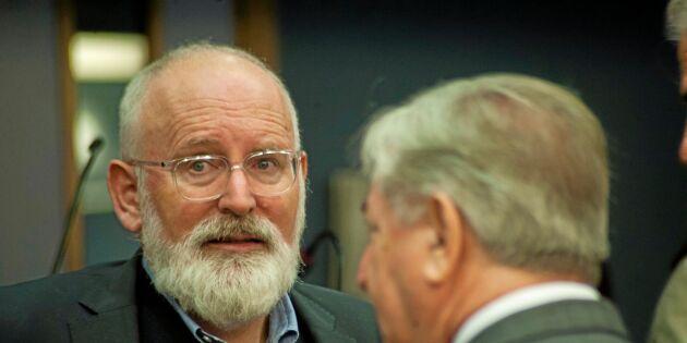 EU-kommissionär: Miljön kräver ett annat jordbruk