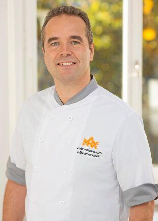 Kaj Török, informations- och hållbarhetschef, Max Burgers.