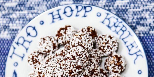 Fixa fikat med riktigt smarriga chokladbollar