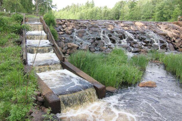 Småskalig vattenkraft. Arkivbild.