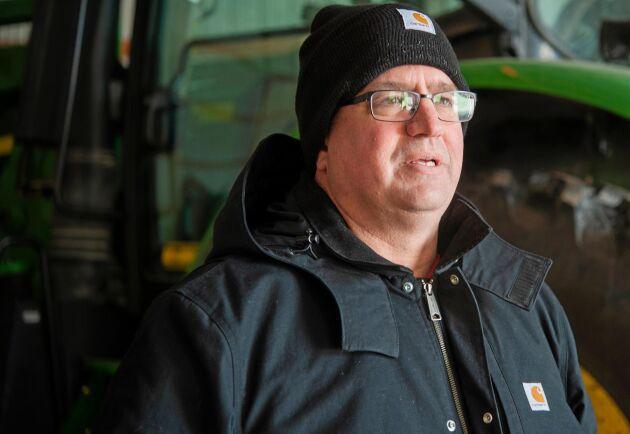 Aaron Lehman, lantbrukare i Iowa.