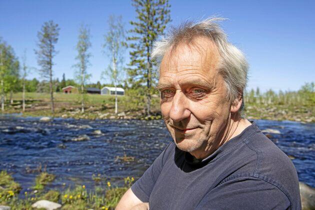 Kjell Nilsson på Selets bruksgård började återställa de igenväxta betesmarkerna för 13 år sedan och blev förra året utsedd till Årets Nötköttsproducent av LRF för sitt tålmodiga arbete med att återskapa kulturmiljön runt Selets bruk.