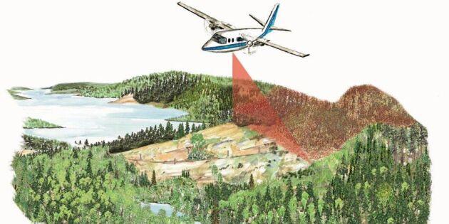 Laserskanning av skog delar föreningarna
