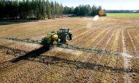 Otydlighet om glyfosat hotar svenskt jordbruk