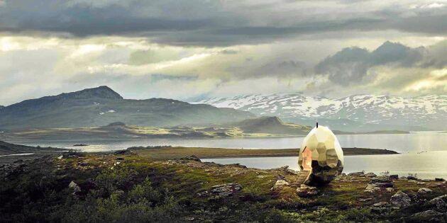 Se den spektakulära bastun som ska locka världen till Kiruna