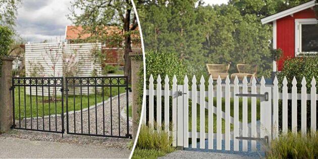 Bygga staket: För- och nackdelar med 5 varianter