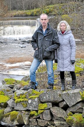 Stor satsning. Anders och Helena Bjursell har investerat 2,3 miljoner kronor i sitt vattenverk.