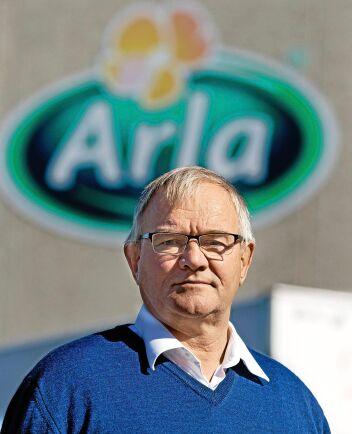 Thomas Lundgren, ordförande för Gefleortens Mejeriförening.