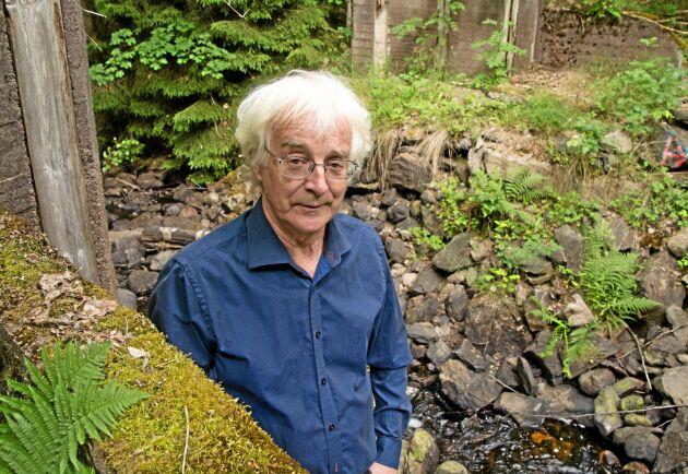 Göran Hartman är dammägare i Åbyholm, Tived, Laxå kommun.