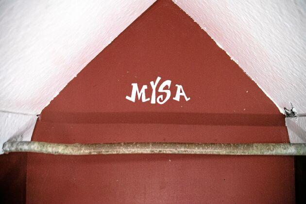 """""""Sovrummet"""" har inretts till tänderna: till och med väggord finns."""