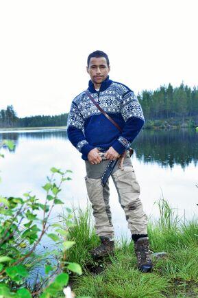 Naturen och vildmarken är viktiga för Jon Henrik och storstaden lockar inte alls.