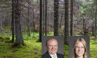 Regeringen bör arbeta med och inte mot skogsägarna