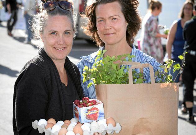 Victoria Svensson och Annika Gustafsson hjälper lokala matproducenter och bygdens invånare att hitta fram till varandra. Nu tilldelas de Hela Sveriges Land-stipendium 2018 för sitt betydelsefulla arbete.
