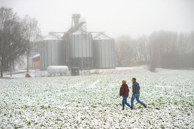 Peter och Carola Reuterström på Stora Lövhulta Gård utanför Eskilstuna tillhör de markägare runt Mälaren som inte var nöjda med mark- och miljödomstolens utslag.