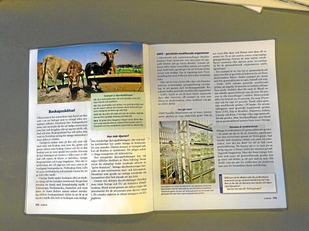 """ATL har tidigare rapporterat om hur Natur & Kulturs lärobok Geografi 8 jämför svensk djurhållning med bland annat storskaliga """"köttfabriker""""."""