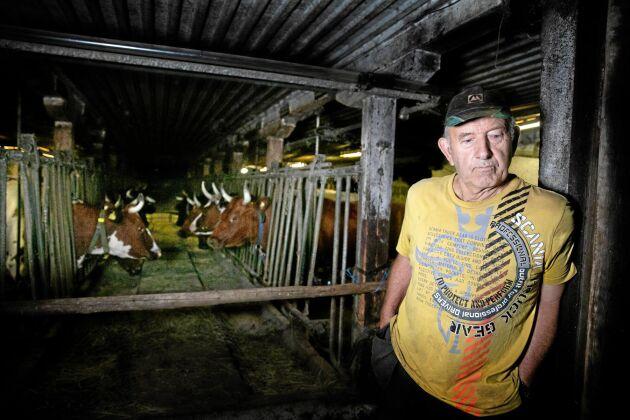Hans Andersson, lantbrukare i Mellösa.