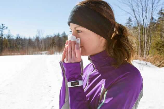 Det finns flera anledningar att avstå från träningen när du är förkyld.