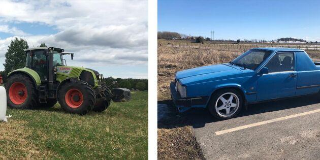Det är fortfarande oklart om det var en lantbrukstraktor, A-traktor eller någon annan traktorklass som användes i samband med det rådiga ingripandet.
