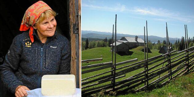 """Anita fortsätter kampen om sin fäbod mot kommunen: """"Det är obegripligt"""""""