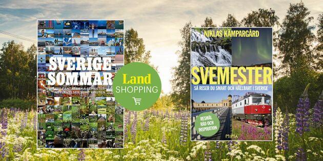 Köp boken alla pratar om – 555 tips för din Sverigesommar!