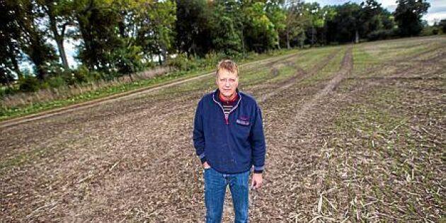 Han kartlade marken och förbättrade skörden