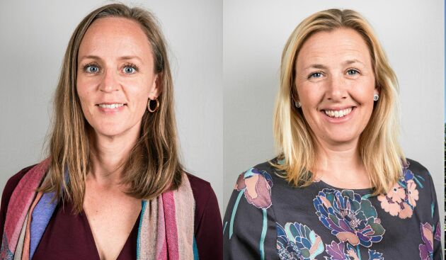 """Maria Ahlsén är biokemist och Jessica Norrbom är doktor i fysiologi. Tillsammans har de skrivit boken """"Frisk utan fusk""""."""