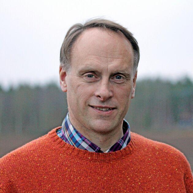 Per Widén, regional ogräsrådgivare på Jordbruksverket Uppsala.