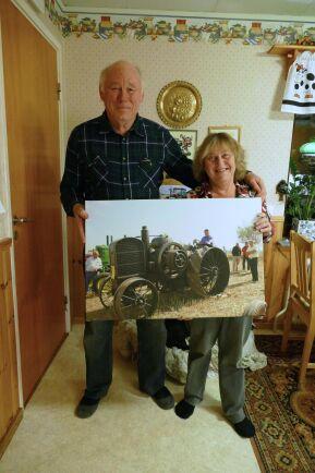 Det hade varit roligt att veta lite mer om traktorns historia, tycker ägaren.