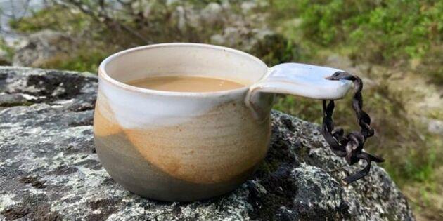 Keramikföremål från Brakkonart – med fjällglasyr och renhorn