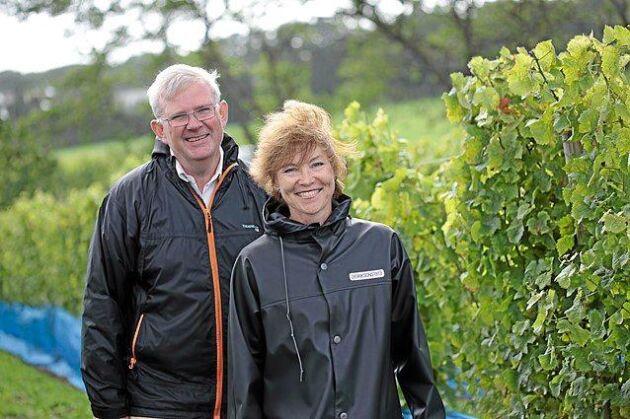 Carl-Magnus Hedin och Marie-Louise Hedin har sin odling på Kullahalvön i Höganäs kommun.