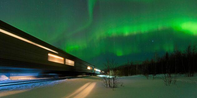 SJ startar specialtåg för att skåda norrsken – ska locka in turister