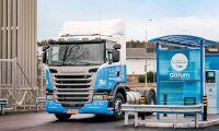 Fordonsgasen minskar - men biodieseln går mot rekordnivåer