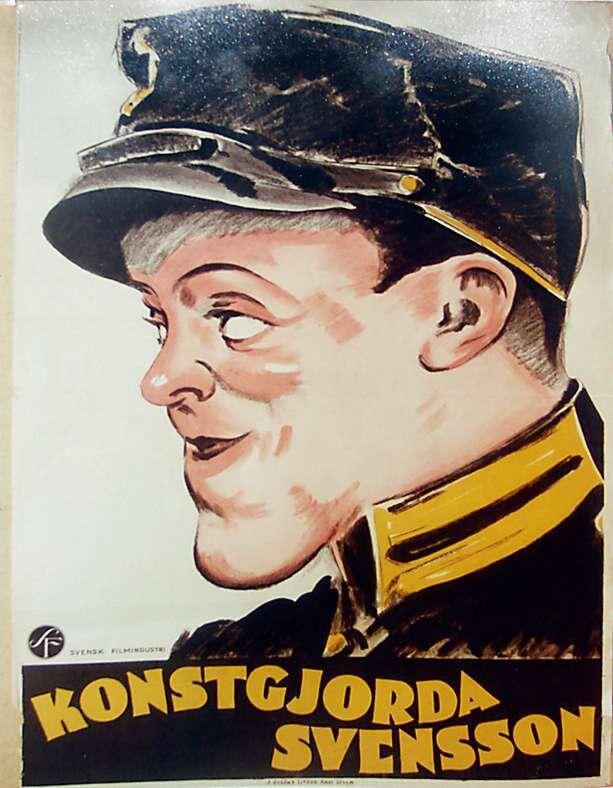 Konstgjorda Svensson var Fridolfs första ljudfilm.