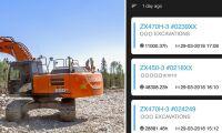 Ny app visar maskinens status
