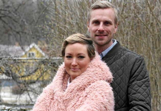 Småbarnsföräldrarna Isabell, 33, och Kristian Segerstedt, 34. Cancern förändrade deras liv i grunden.