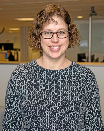 Vibeke Alstad, skogsekonom.