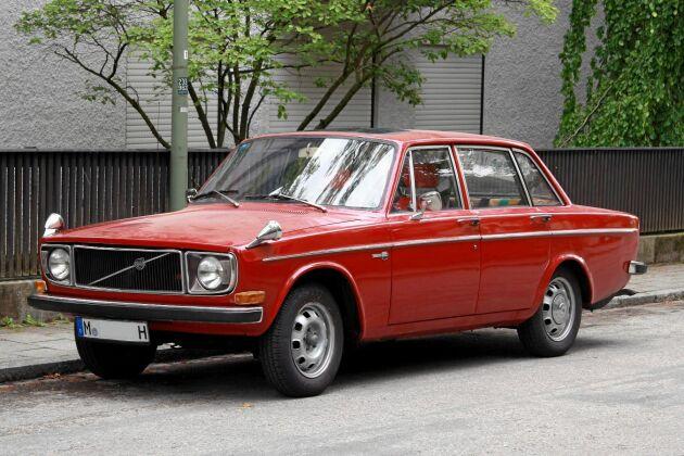 Volvo 142, syntes överallt.
